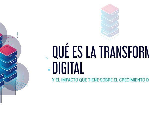 Portada ilustrada sobre transformación digital